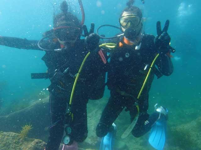 【2日間】伊豆の海でダイビングライセンス取得